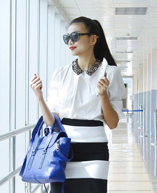 Ngọc Trinh, Thanh Hằng hoàn hảo ở sân bay-2