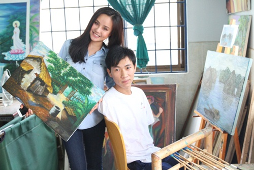 vy oanh don sinh nhat som cung tre mo coi - 6