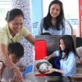 Làng sao - Vy Oanh đón sinh nhật sớm cùng trẻ mồ côi