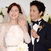 """Cựu Hoa hậu Hàn """"cực nhắng"""" trong ngày cưới"""