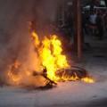 Tin tức - Đánh vợ, đốt xe, đâm chết hàng xóm