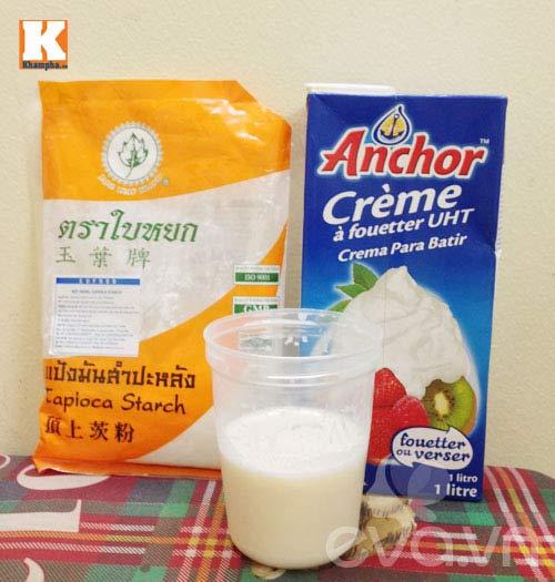 Làm váng sữa cho con trong 15 phút - 1