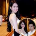 Làng sao - Ngọc Trinh khoe dáng tại đám cưới Ngọc Thạch