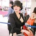 Làng sao - Lý Nhã Kỳ đẹp như tiểu thư tại sân bay