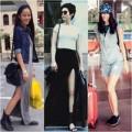 Thời trang - Sao đẹp: Sao rộn ràng áo khoác chào thu