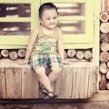 Làm mẹ - Siêu mẫu nhí:Chàng Gia Huy bảnh trai