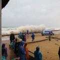 Tin tức - Bão giật cấp 11 đã ập vào Quảng Bình