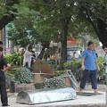 Tin tức - Một người tự thiêu tại trung tâm Sài Gòn