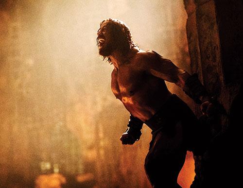 man xuat hien an tuong cua the rock trong hercules - 2