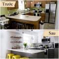Nhà đẹp - Sửa bếp cũ sạch đẹp hơn với 120 triệu đồng