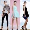 Thùy Trang Next Top ấn tượng với thời trang tối giản