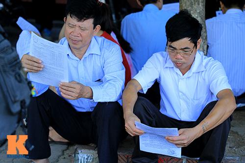 nguoi nha 'doi nang' cho thi sinh thi dai hoc - 14