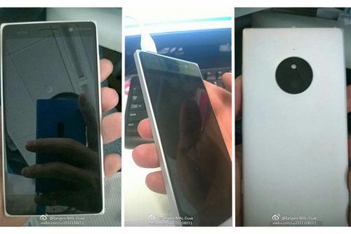 lumia 830 lan dau lo dien, thiet ke giong lumia 930 - 1