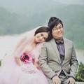 Làng sao - Ảnh cưới ngọt ngào của DV hài Gia Bảo