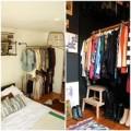 Nhà đẹp - Tủ quần áo mở lý tưởng cho phòng ngủ nhỏ