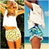 Thời trang - Quần sooc pom-pom phá cách cho mùa hè