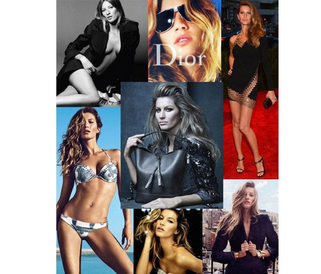 Brazil là đất nước sản sinh ra rất nhiều mỹ nhân, đặc biệt trong số đó có rất nhiều người mẫu Brazil đã làm thay đổi cả ngành công nghiệp thời trang trên thế giới. Họ không chỉ tài giỏi, xinh đẹp mà còn vô cùng quyến rũ.  1. Gisele Bündchen - Nơi sinh: Três de Maio, Rio Grande do Sul  Ở thời điểm hiện tại, Gisele Bündchen đang là người mẫu 'đắt giá' có mức thu nhập khủng nhất trong giới người mẫu. Cô là người mẫu Brazil đầu tiên thành công trên thế giới và thậm chí người mẫu Claudia Schiffer còn gọi cô là siêu mẫu thực thụ cuối cùng của ngành công nghiệp thời trang. Hiện tại ngoài công việc người mẫu, Gisele còn sở hữu nhiều dòng sản phẩm thời trang của riêng mình, tham gia vào các hoạt động quảng cáo của các thương hiệu nổi tiếng như Chanel, Dior. Gisele Bündchen cũng là thiên thần nội y sáng giá của Victoria's Secret/