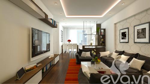 Hoàn thiện nội thất nhà 98m2 với 400 triệu đồng-2