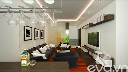 Hoàn thiện nội thất nhà 98m2 với 400 triệu đồng-3
