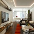 Nhà đẹp - Hoàn thiện nội thất nhà 98m2 với 400 triệu đồng