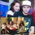 Làng sao - Chi Pu ăn tối cùng gia đình Gil Lê