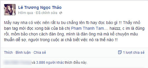 "the bao: ""tam hay noi ro su that voi bao chi"" - 9"