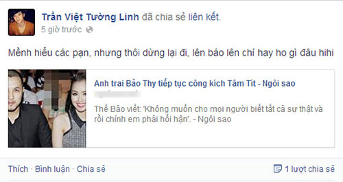 "the bao: ""tam hay noi ro su that voi bao chi"" - 8"