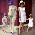 Thời trang - Thời trang hè đầy màu sắc của mẹ con Mi Vân