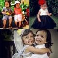 Làm mẹ - Cặp song sinh đẹp như tranh của Hồng Nhung