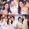 Làng sao - Thủy Tiên, Nguyễn Thị Huyền bất ngờ đọ sắc