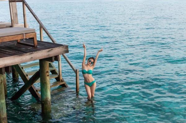 hot girl viet lam me 'sieu chuan' voi bikini - 14
