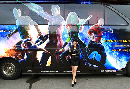 "chi pu bat ngo du hop bao ""guardians of the galaxy"" - 3"