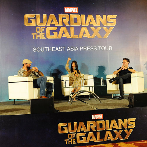 "chi pu bat ngo du hop bao ""guardians of the galaxy"" - 2"