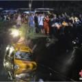 Tin tức - Xe bus chở trẻ mầm non rơi xuống hồ, 11 người chết
