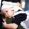Tin tức - Rơi lệ hình ảnh con nhỏ của các chiến sỹ tại tang lễ