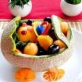 """Bếp Eva - Cuối tuần rảnh rỗi tỉa """"xe nôi"""" đựng hoa quả"""