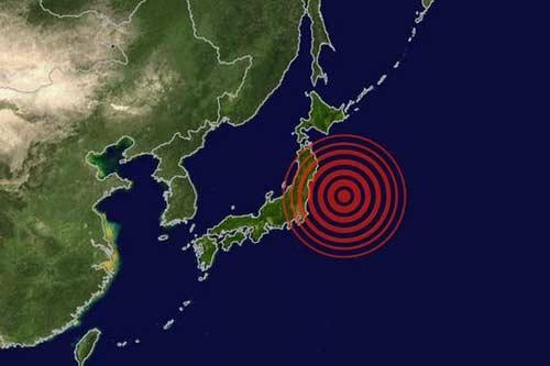 nhat: dong dat manh gay song than o fukushima - 1