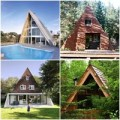 Nhà đẹp - Những ngôi nhà chữ A đẹp nhất thế giới