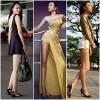 Thời trang - Ngất ngây chân dài thẳng tắp của mỹ nhân Việt
