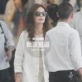 Làng sao - Triệu Vy đầu bù tóc rối ở sân bay