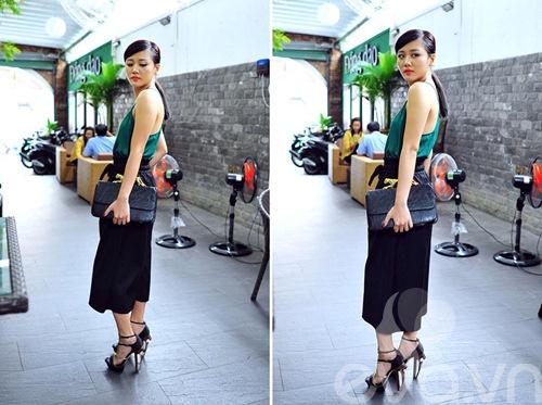 van mai huong sanh dieu voi ao hai day ra pho - 11