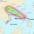 Tin tức - Bão Thần Sấm có thể hướng vào Hải Phòng – Quảng Ninh