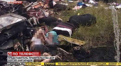 mh17 roi o ukraine: xac nguoi nam la liet tai hien truong - 17
