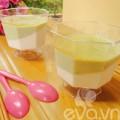 Bếp Eva - Tráng miệng với panna cotta trái bơ, mật ong