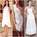 Thời trang - Top váy trắng tuyệt đỉnh thanh lịch của mỹ nhân Việt