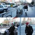 Làng sao - Quang Hà tóc đỏ rực trên đường phố Sydney