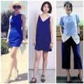 Thời trang - Cảm hứng xanh cô ban từ các sao Việt