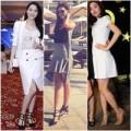 Thời trang - 3 mỹ nhân Việt đụng giày hot của Valentino
