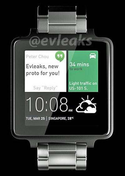 smartwatch dau tien cua htc lo dien voi thiet ke vuong - 1