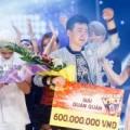 """Làng sao - Thanh Tùng """"ẵm"""" 7,5 tỷ đồng của Ngôi sao Việt"""